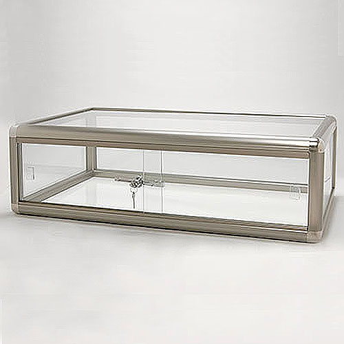 Glass Countertop Showcase- Includes Lock- 30
