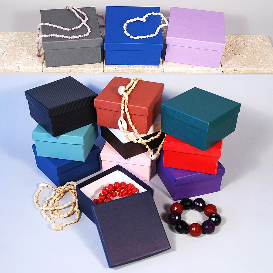 Jewelry Box Colors Pastel Cardboard