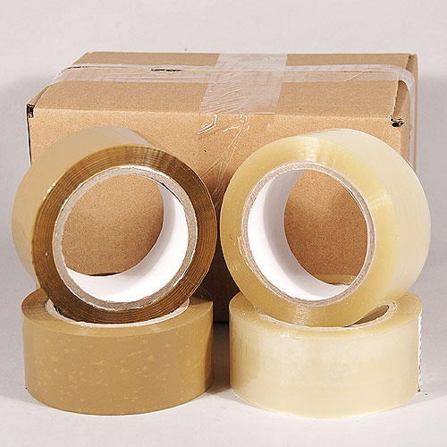 "Packaging Tape- Acrylic- 2.0 Mil- 2"" x 110 yards"