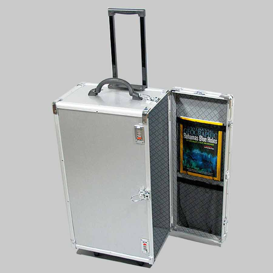Carrying cases jewelry attache foldable case and wheeled for Ring case
