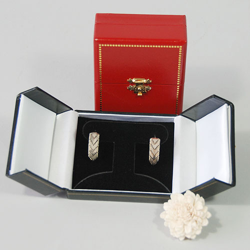 T-Earring ... & Jewelry Boxes - Two Door Jewelry Boxes - Leatherette