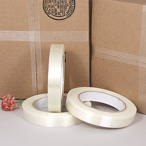 "Filament (Strapping) Tape- 3/4"" x 60 Yards- Price Per Roll"