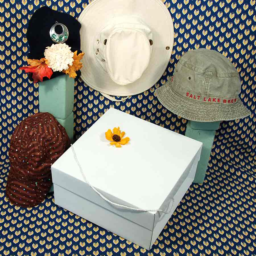 "Hat Box- 12"" x 12"" x 6""- 50/case"