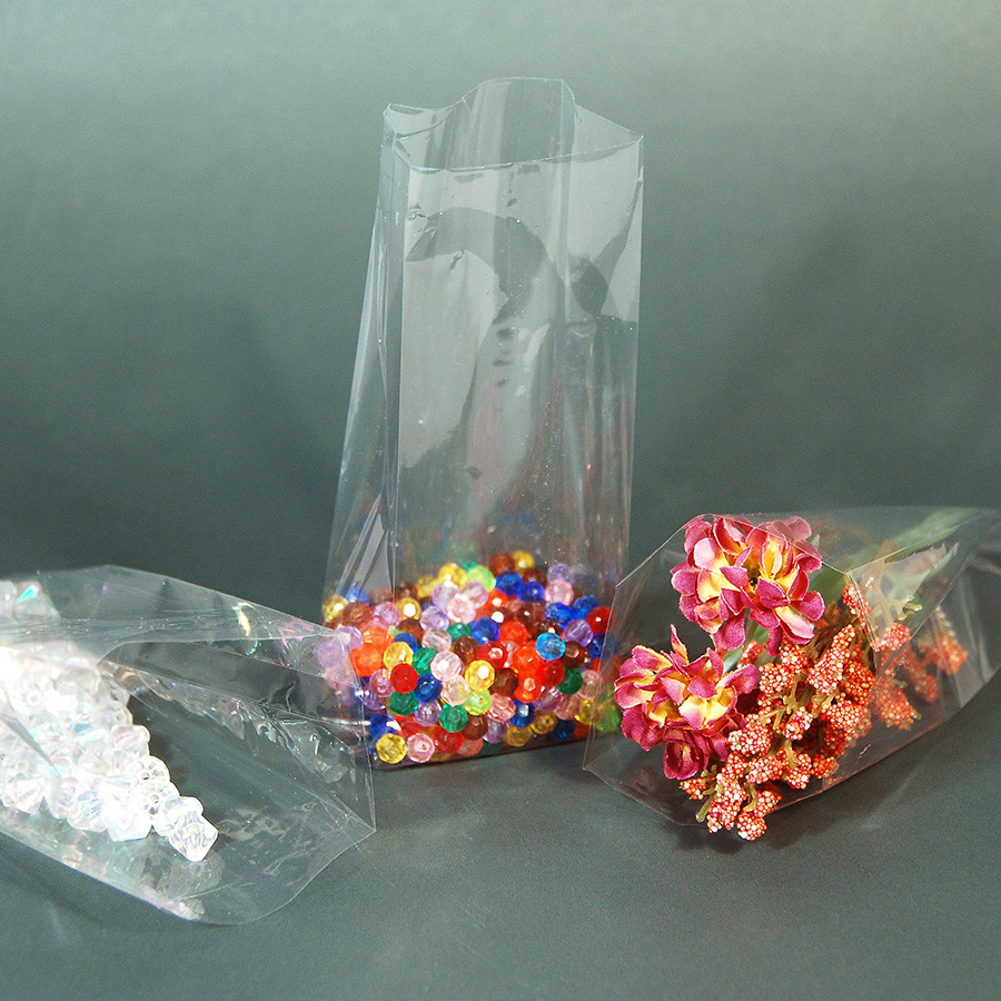 Polypropylene Bags- Clear- 1.5 Mil- 2 1/2