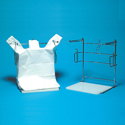 Favorite T-Shirt Plastic Bags - White - Clear - Colors - Bag Rack DI67
