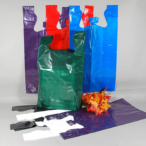 "12"" x 7"" x 23"" T-Shirt Bags- Strong Low Density- 1.5 Mil- 250/case- Fits Our Bag Rack"