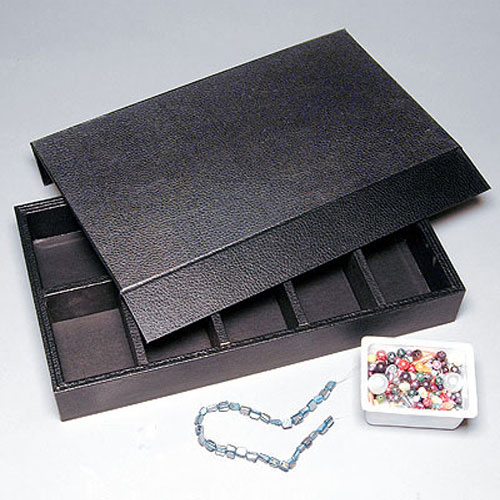 bead storage organizer trays wooden bins sold separately