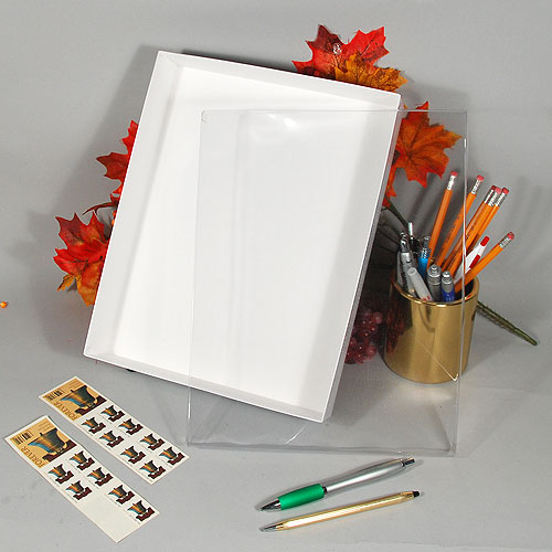 "Stationery Box- 11 1/4"" x 8 3/4"" x 2""- 20/case"