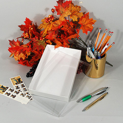 "Stationery Box- 8 5/8"" x 5 5/8"" x 1 3/8""- 50/case"