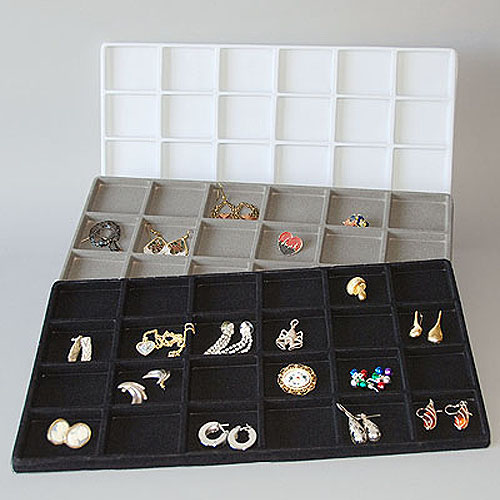 "24 Compartment Insert Tray- 14"" x 7 1/2"" x 1/2""H"