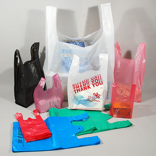 T shirt plastic bags white clear colors bag rack for Clear shirt packaging bags